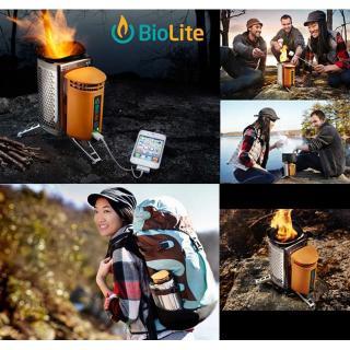 たき火の熱を電気に変換 BioLite キャンプストーブ(POTアダプター付き)_7