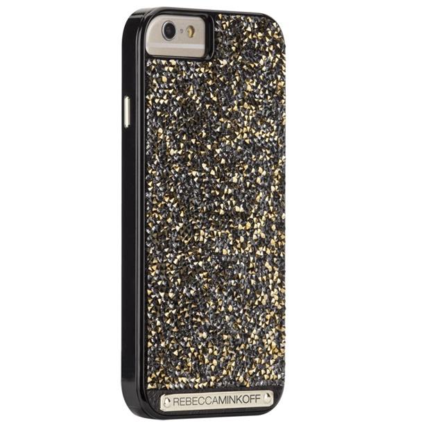 Case-Mate レベッカ ミンコフ ゴールドブリリアントケース ゴールドクリスタル iPhone 6s/6