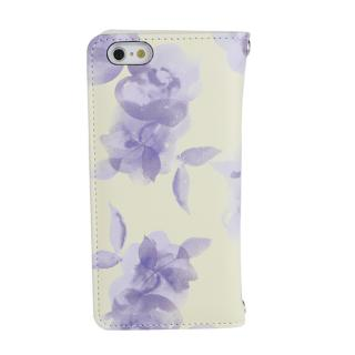 【iPhone6s/6ケース】[AppBank限定]ROYAL PARTY手帳型ケース Blur flower イエロー iPhone 6s/6_1