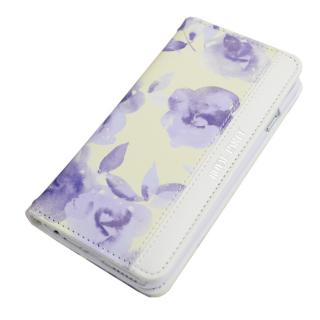 【iPhone6s/6ケース】[AppBank限定]ROYAL PARTY手帳型ケース Blur flower イエロー iPhone 6s/6_3