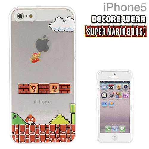 【iPhone SE/5s/5】 スーパーマリオケース(ジャンプ)