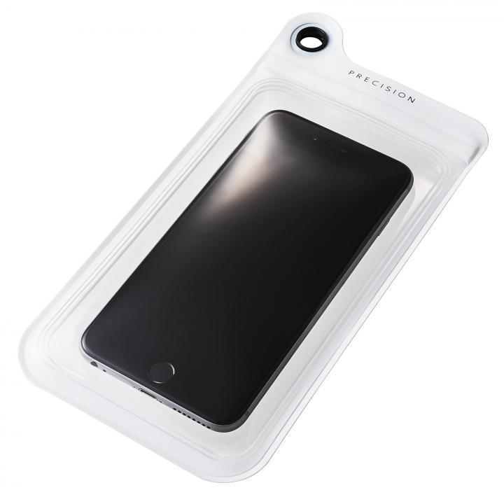 【iPhone6/6 Plusケース】防滴ケース Splash Proof 5.5インチ対応 ホワイト 多機種対応(iPhone/Android)_0