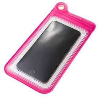 防滴ケース Splash Proof 5.5インチ対応 ピンク 多機種対応(iPhone/Android)