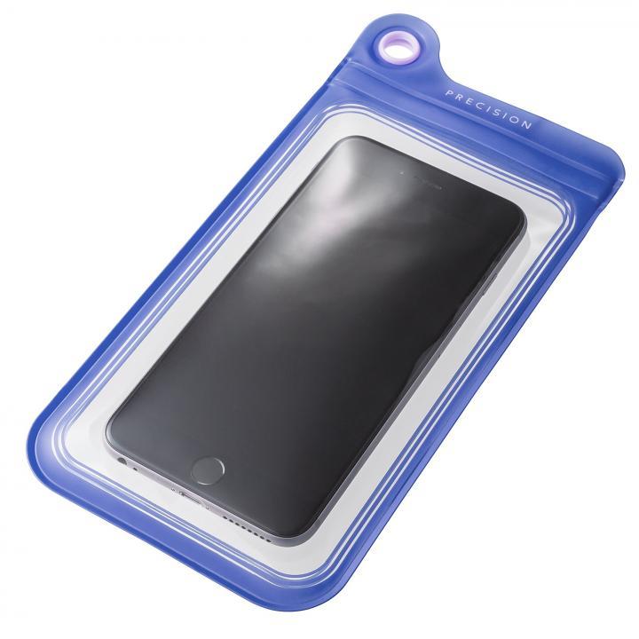 防滴ケース Splash Proof 5.5インチ対応 パープル 多機種対応(iPhone/Android)