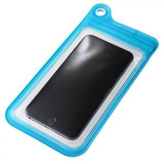 防滴ケース Splash Proof 5.5インチ対応 ブルー 多機種対応(iPhone/Android)