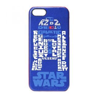】スター・ウォーズ レザーハードケース R2-D2 iPhone SE/5s/5ケース