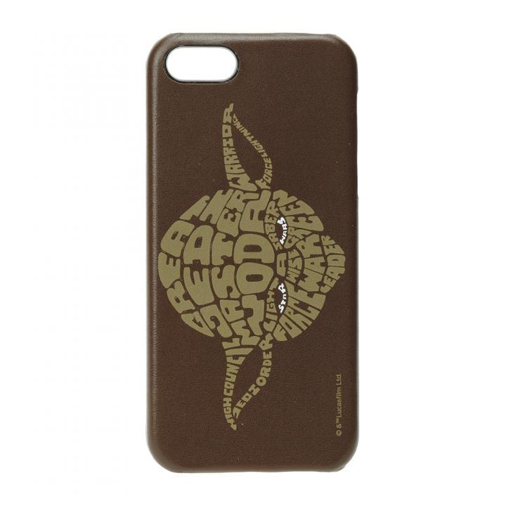 iPhone SE/5s/5 ケース スター・ウォーズ レザーハードケース ヨーダ iPhone SE/5s/5ケース_0