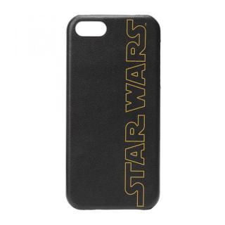 スター・ウォーズ レザーハードケース スターウォーズロゴ iPhone SE/5s/5ケース