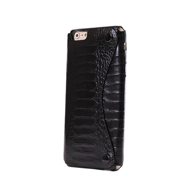 iPhone6 ケース mobakawa President Edition オーストレッグ型押し ブラック iPhone 6_0