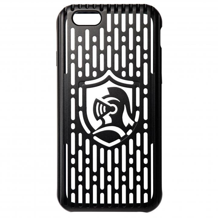 【iPhone6s/6ケース】クリスタルアーマー フルメタルジャケット オールブラック iPhone 6s/6_0