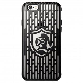 【iPhone6s/6ケース】クリスタルアーマー フルメタルジャケット オールブラック iPhone 6s/6_1