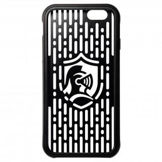 【iPhone6s/6ケース】クリスタルアーマー フルメタルジャケット オールブラック iPhone 6s/6_2