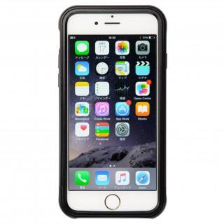 【iPhone6s/6ケース】クリスタルアーマー フルメタルジャケット オールブラック iPhone 6s/6_3