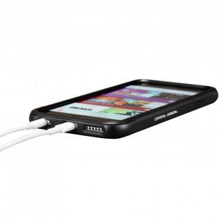 【iPhone6s/6ケース】クリスタルアーマー フルメタルジャケット オールブラック iPhone 6s/6_5