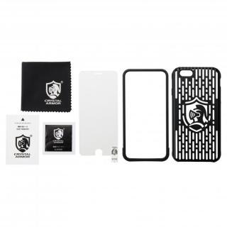 【iPhone6s/6ケース】クリスタルアーマー フルメタルジャケット オールブラック iPhone 6s/6_7