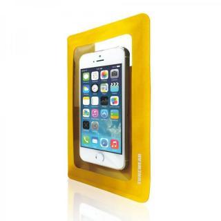 安心の3重ロック防水ケース IPX7 WATERWEAR LIGHT イエロー iPhone/Android