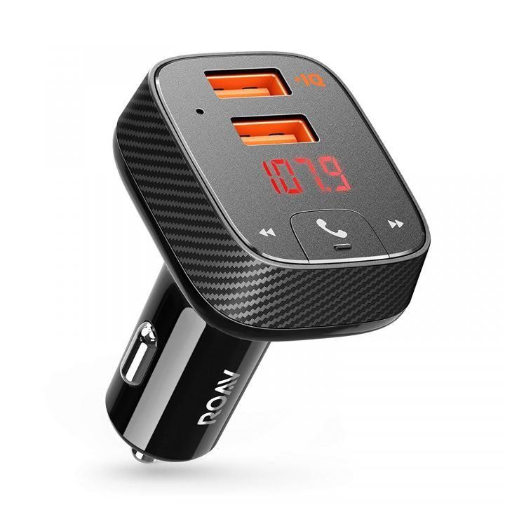 Anker Roav FM Transmitter F2 FMトランスミッター搭載 2ポートカーチャージャー_0