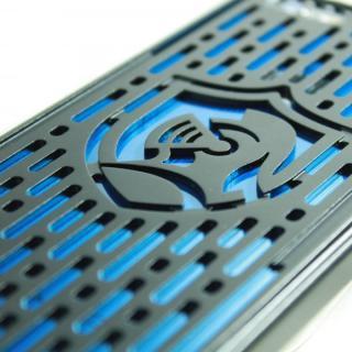 【iPhone6s/6ケース】クリスタルアーマー フルメタルジャケット オールブラック iPhone 6s/6_4