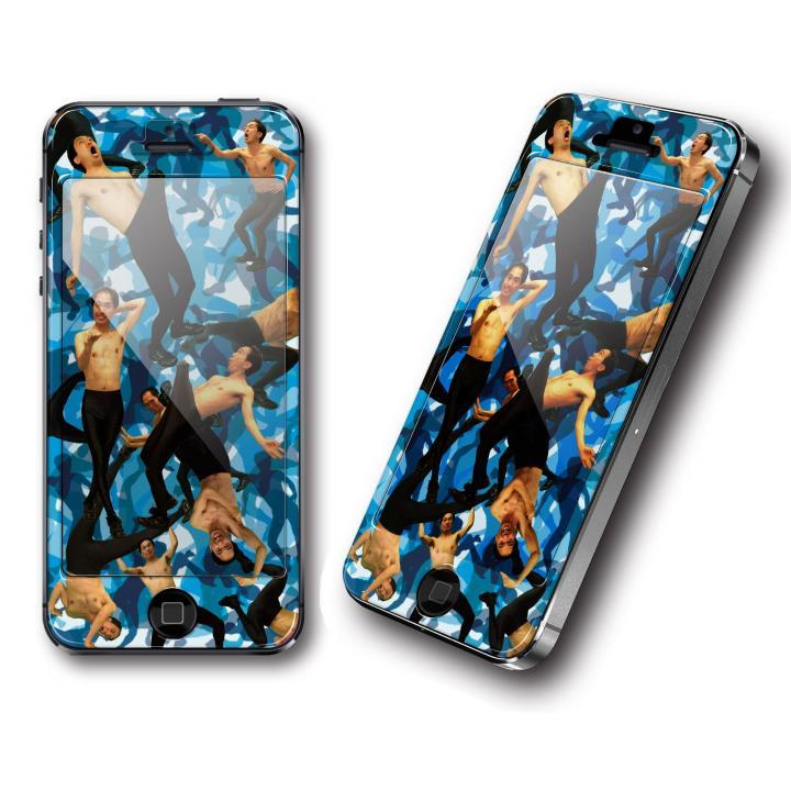 iPhone SE/5s/5 ケース 江頭2:50 エガPhone EGA250 camouflage iPhone SE/5s/5スキンシール_0