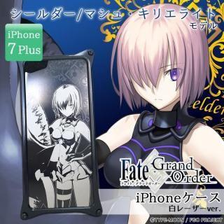 【iPhone7 Plusケース】Fate/Grand Order × ギルドデザイン シールダー/マシュ・キリエライト 白レーザーver. iPhone 7 Plus