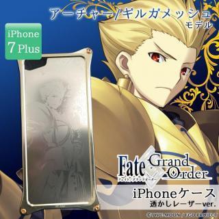 Fate/Grand Order × ギルドデザイン アーチャー/ギルガメッシュ 透かしレーザーver. iPhone 7 Plus【11月上旬】