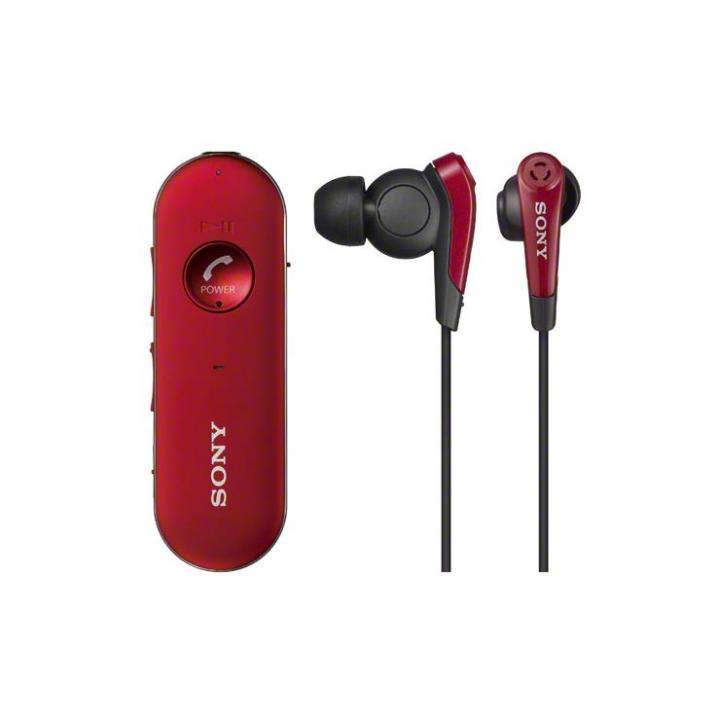 SONY デジタルノイズキャンセリング ワイヤレス密閉インナーイヤホン レッド_0