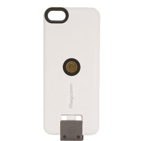 Magconn 置くだけ充電 Magconn充電対応スライドケース iPhone SE/5s/5ケース