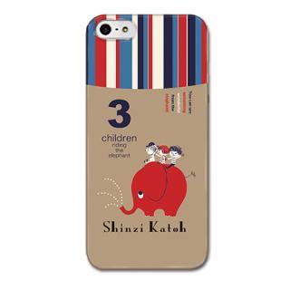 Shinzi Katohデザインケース ぞう iPhone SE/5s/5ケース