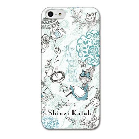 Shinzi Katohデザインケース アリス iPhone SE/5s/5ケース
