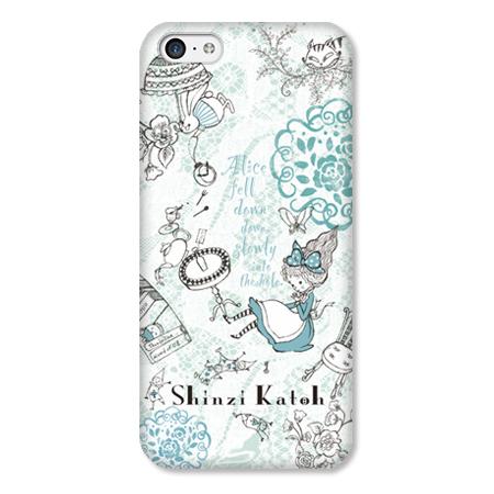 Shinzi Katohデザインケース アリス iPhone 5cケース