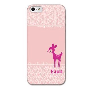 Shinzi Katohデザインケース Fawm(バンビ) iPhone SE/5s/5ケース
