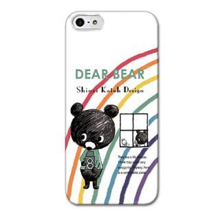 Shinzi Katohデザインケース DearBear iPhone SE/5s/5ケース