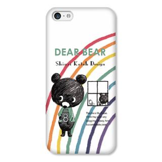 Shinzi Katohデザインケース DearBear iPhone 5cケース