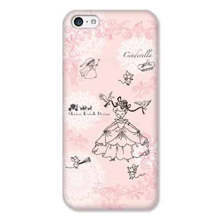 Shinzi Katohデザインケース シンデレラ iPhone 5cケース_0