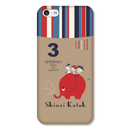Shinzi Katohデザインケース ぞう iPhone 5cケース_0