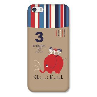 Shinzi Katohデザインケース ぞう iPhone 5cケース