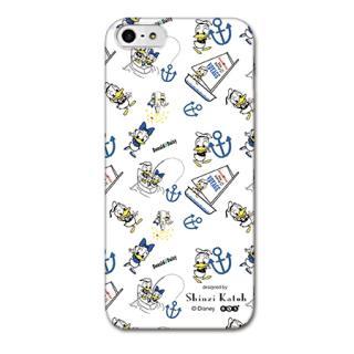 Shinzi Katoh ディズニー デザインケース ドナルド 白 iPhone SE/5s/5ケース