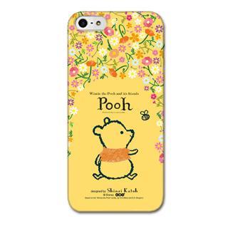 Shinzi Katoh ディズニー デザインケース プーさん 花柄 iPhone SE/5s/5ケース