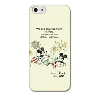 Shinzi Katoh ディズニー デザインケース ミッキー&ミニー お絵描き iPhone SE/5s/5ケース