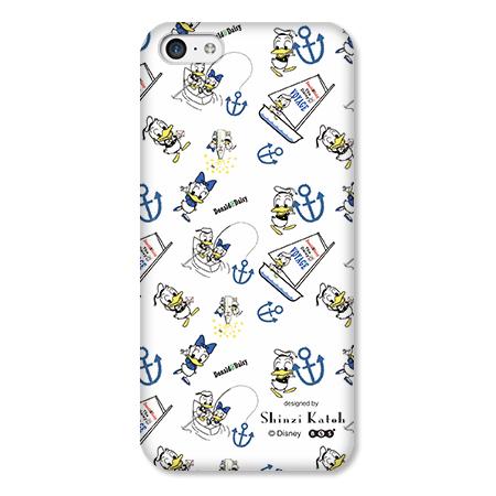 Shinzi Katoh ディズニー デザインケース ドナルド 白 iPhone 5cケース_0