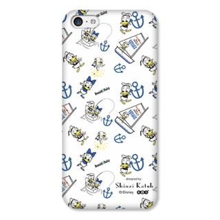 Shinzi Katoh ディズニー デザインケース ドナルド 白 iPhone 5cケース
