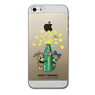 Shinzi Katoh ディズニー デザインケース ドナルド&デイジー(クリア) iPhone SE/5s/5ケース