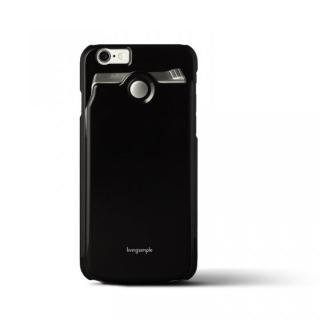 カードケース付きケース The BANK ブラック/光沢 iPhone 6s/6