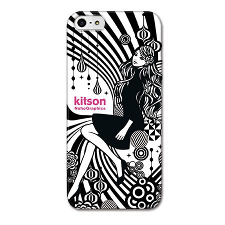 iPhone SE/5s/5 ケース Kitson デザインケース Women ブラック iPhone SE/5s/5ケース_0