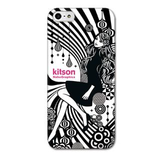 Kitson デザインケース Women ブラック iPhone SE/5s/5ケース