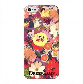 DressCamp ブランドケース カラフルフラワー iPhone SE/5s/5ケース
