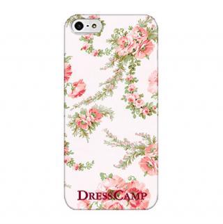 DressCamp ブランドケース フラワーブーケ iPhone SE/5s/5ケース