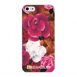DressCamp ブランドケース ぼたん iPhone SE/5s/5ケース