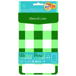 iPhone SE/その他の/iPod ケース DressCamp IPX6 生活防水ポーチ チェック
