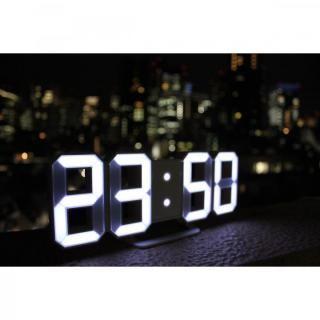[新iPhone記念特価]3DデザインのLEDデジタル時計 Tri Clock